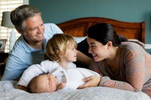 家族の笑顔を作る冷暖房機器